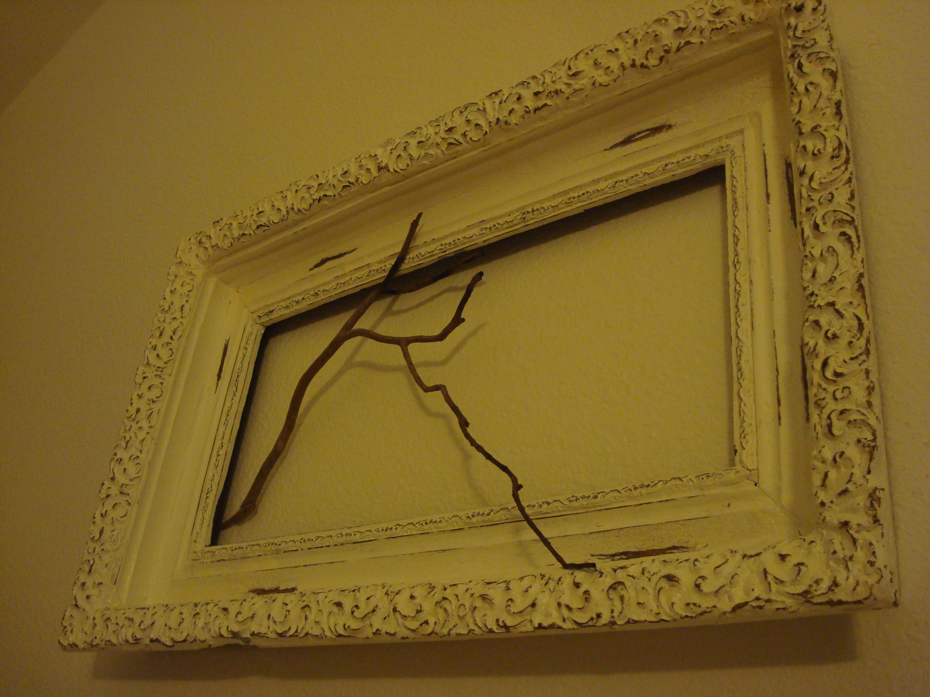 {PB antique frame from The Inspiring Bee}