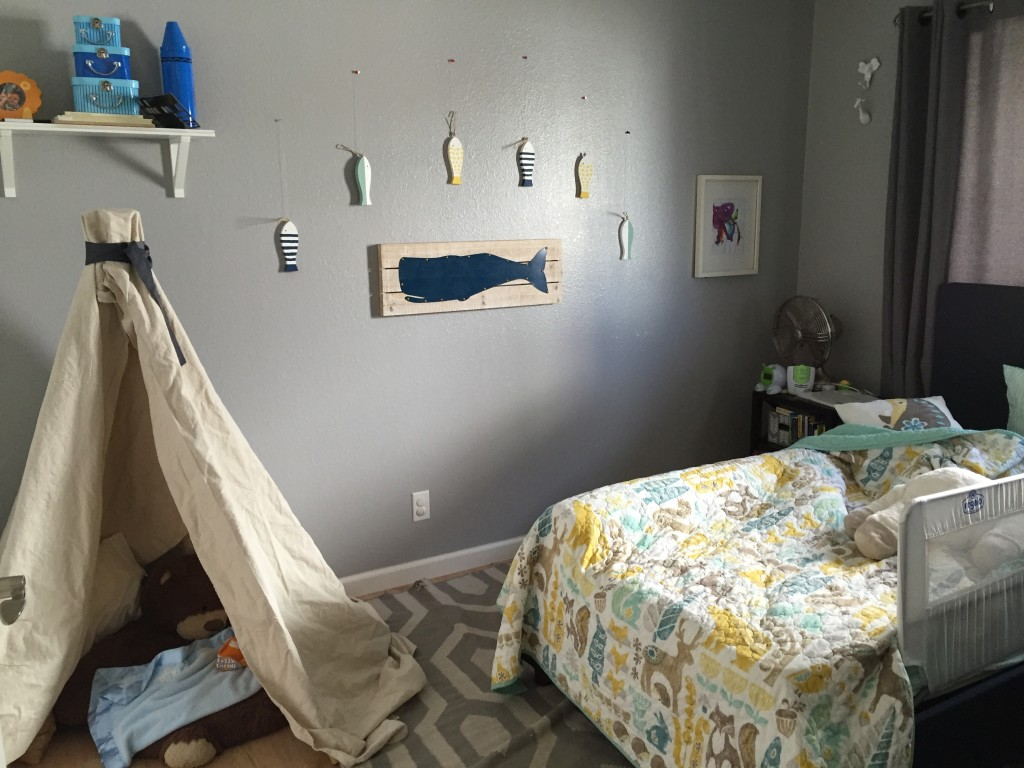 Teepee toddler room